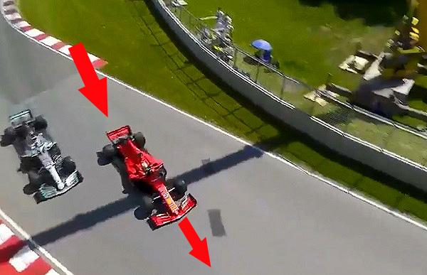 La sanción a Vettel en Canadá no se revisará porque fue justa