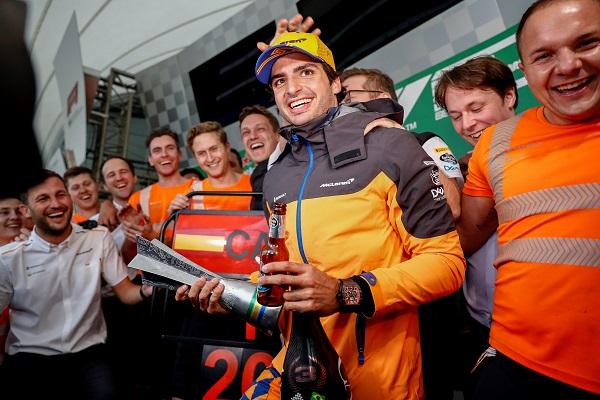 Rosberg solo ve a dos pilotos mejores que Carlos Sainz en la Fórmula 1