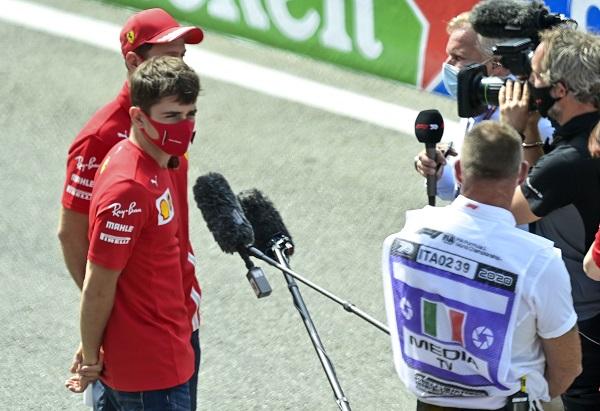 Leclerc también podría estar ya cansado de Ferrari
