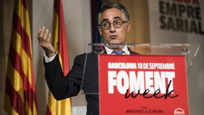 Ramon Tremosa, un metepatas para presidir el circuito de Montmeló