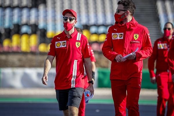 Guerra declarada entre Vettel y Ferrari