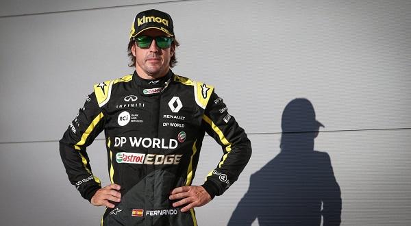 El trabajo de Alonso ha sorprendido al propio equipo Renault
