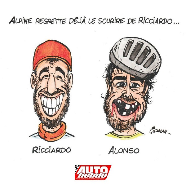 Una revista francesa se burla del accidente de Fernando Alonso