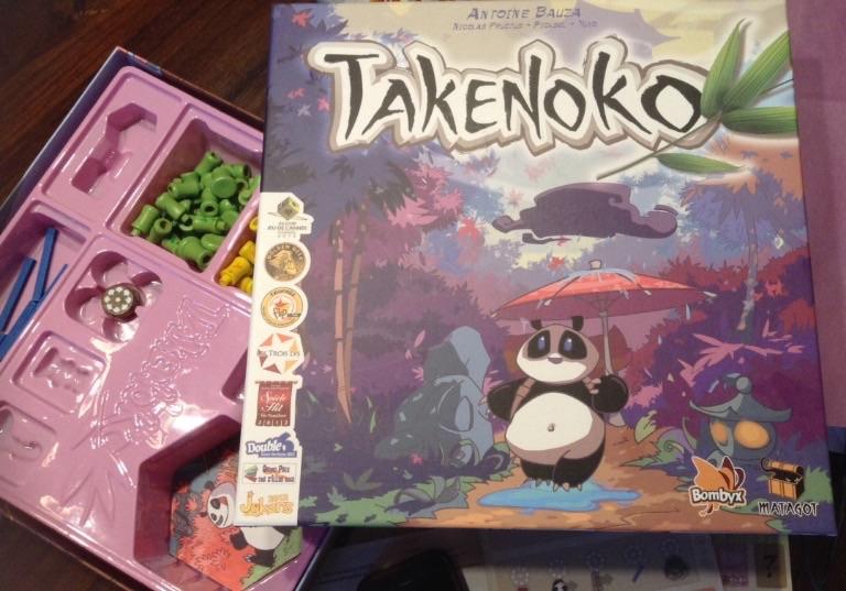Takenoko Un Bonito Juego De Mesa Para Introducir A Los Ninos En