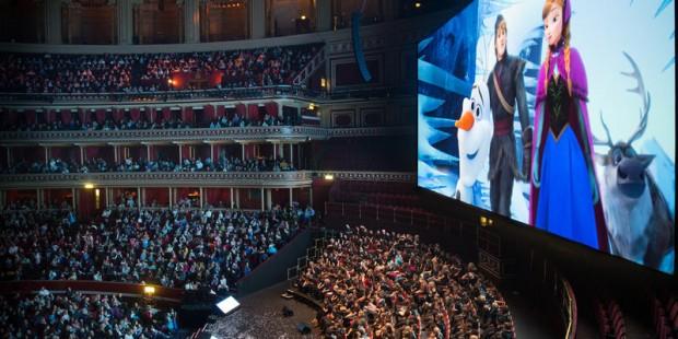 Una imagen del concierto londinense, en el Royal Albert Hall. (royalalberthall.com).