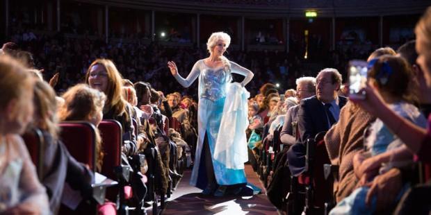 Otra imagen del concierto en Londres. (royalalberthall.com)