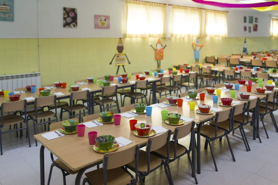 Comedor madre reciente for Comedor de escuela