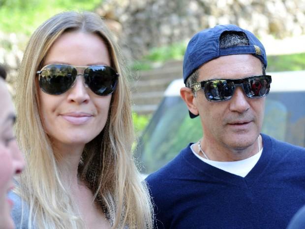 Antonio Banderas y Nicole Kimbel, una de las parejas del momento. Llevan juntos 15 meses. Foto: © Gtres