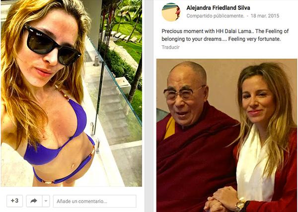 Adriana Silva, fotos de Google +
