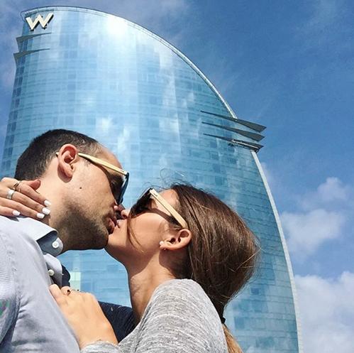 Risto Mejide y Laura Escanes. Foto: IG @ristomejide