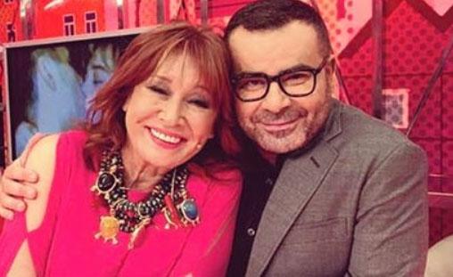 Mila Ximénez y Jorge Javier Vázquez. IG @jorgejaviervazquez