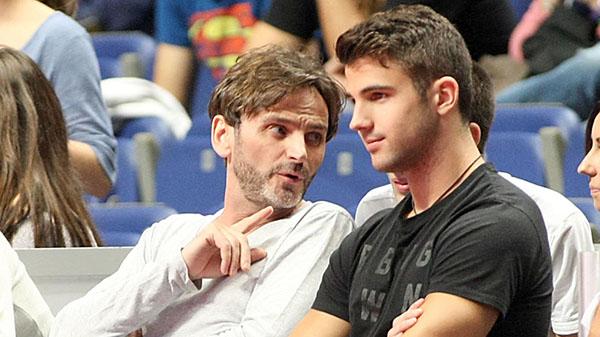 Fernando Tejero y su ex, Miguel Ortiz. © Gtres