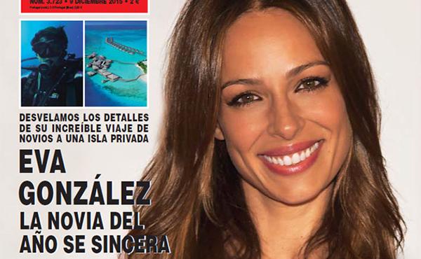 La presentadora y exmiss vuelve a ser portada de 'Hola' esta semana.