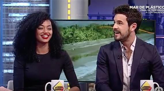Mario Casas y Berta Vázquez en su paso por El Hormiguero