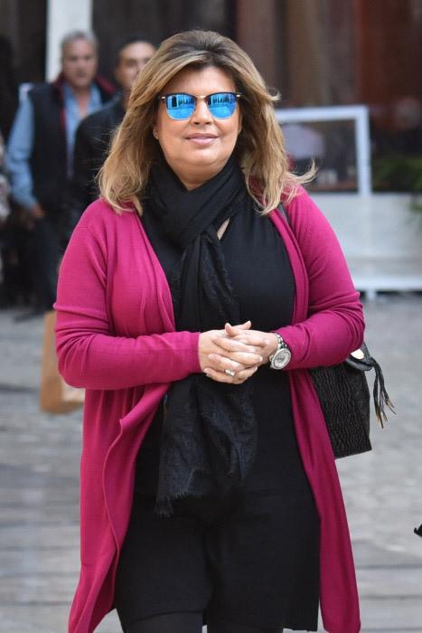 Terelu Campos, que está pasando las Navidades en Málaga. © Gtres