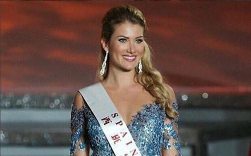 Mireia Lalaguna, actual Miss Mundo. IG @mlalaguna
