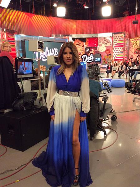 Isa Pantoja acudió el viernes pasado a Sálvame Deluxe. Foto: Twitter