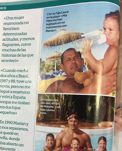 Ejemplar de la revista Semana de Rosy.