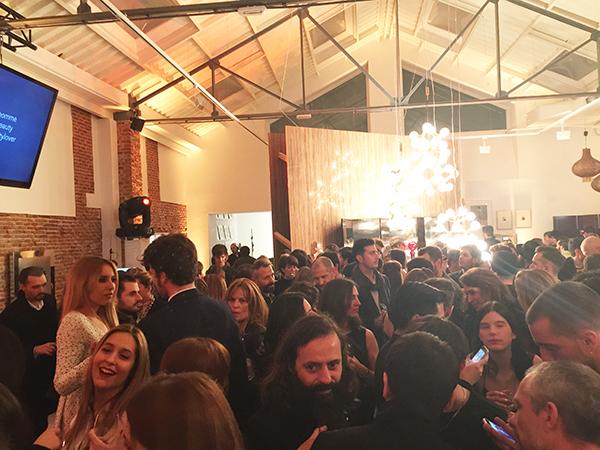 Foto de ambiente. La fiesta tuvo lugar en L. A. Estudio, en Madrid.