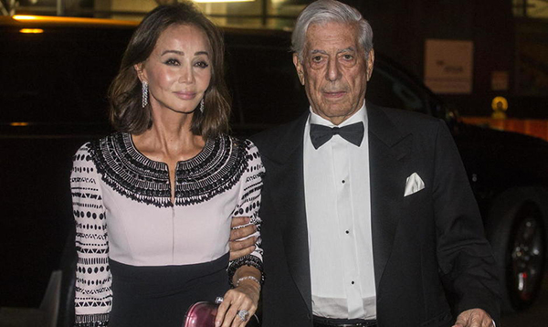 Isabel Preysler y Mario Vargas Llosa, en una visita a Nueva York. © Gtres