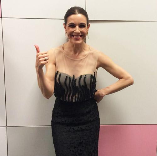 Raquel Sánchez Silva, en los pasillos de su nuevo programa. Foto: Instagram