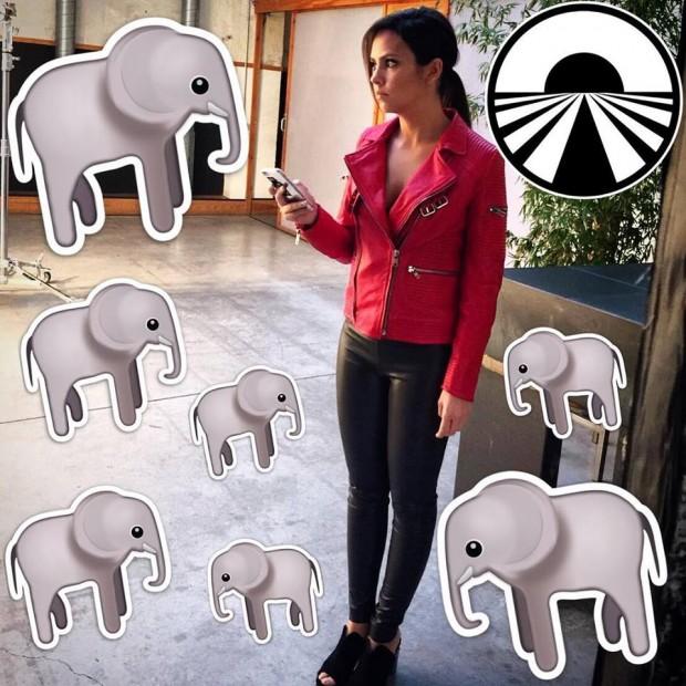 Foto que Cristina Pedroche subió a su Facebook para anunciar el inminente estreno de Pekin Express: la ruta de los elefantes.