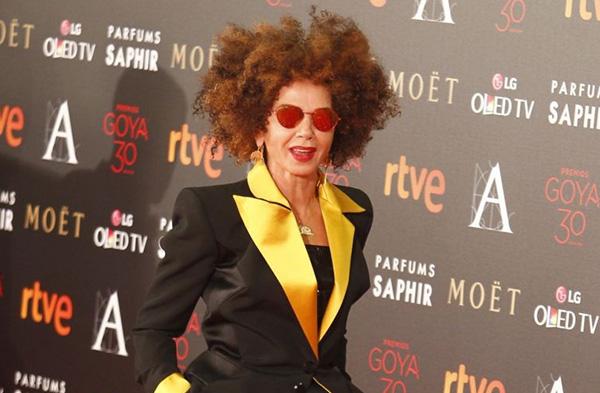 Victoria Abril en los Premios Goya. Foto de Jorge París