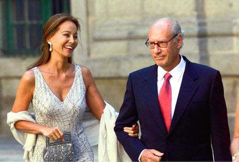 Isabel Preysler y Miguel Boyer, en una foto de archivo. © Gtres