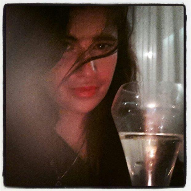 Lucía Etxebarria, en su foto de perfil de la red social
