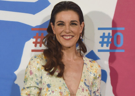 Raquel Sánchez Silva en la presentación del canal de televisión de Movistar en el que trabaja. © Gtres