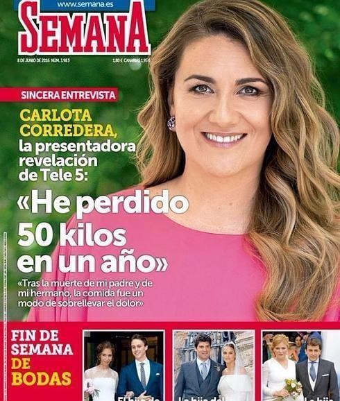 La presentadora, colaboradora y entrevistada portada de la revista Semana