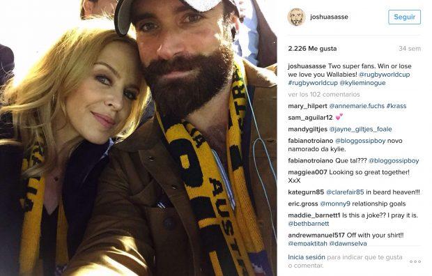 Aquí la primera foto 'oficial' en las redes sociales de la pareja
