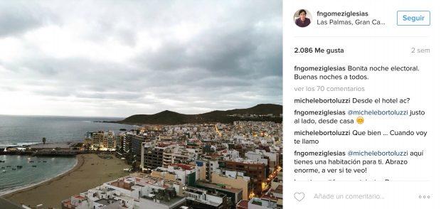 Las vistas de la Playa de las Canteras desde la casa de Francisco Nicolás