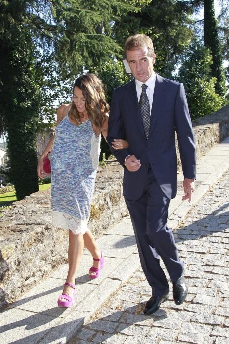Alessandro y María de boda el sábado pasado