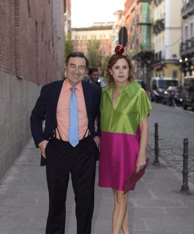 Agatha y Pedro J.