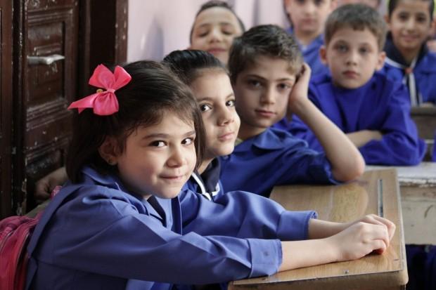 Una niña en un colegio de Damasco ©UNICEF/Syria/2015/Razan Rashidi