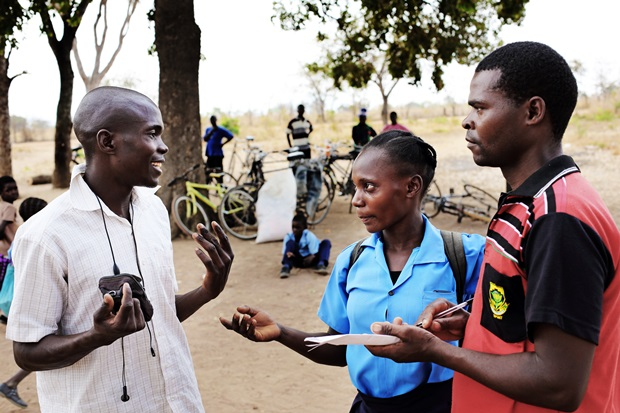 Royce, asesora juvenil en Zambia. Copyright Plan International Georges Morleghem
