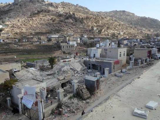 MSF159777 Shiara hospital destroied Perspective