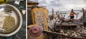 © UNICEF/UN035940/LeMoyne and © UNICEF/UN034856/Abassi, UN-MINUSTAH