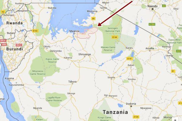 El distrito Magu en Tanzania © Lianne Murphy