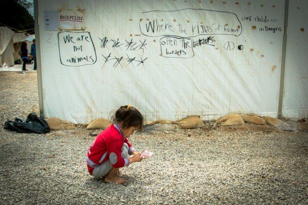 Campo de refugiados de Ritsona. Foto Ovi Vega @ovitveo