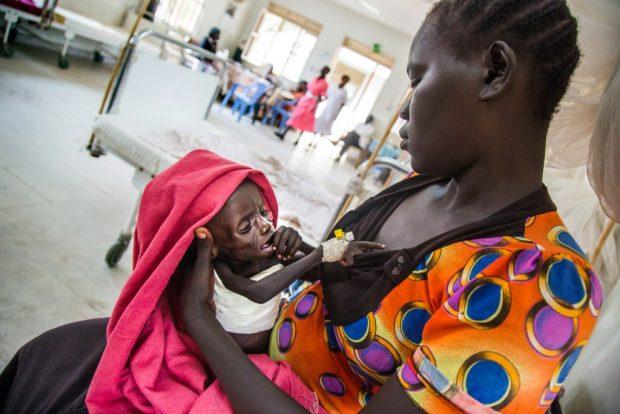 Hambruna en Sudán del Sur: Emmanuel quiere sobrevivir