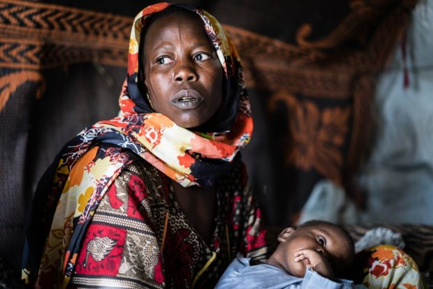 Víctima de Boko Haram: nacido entre las bombas