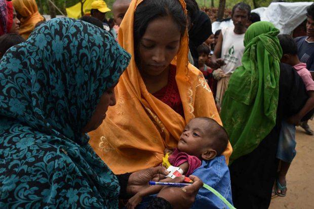 El mayor miedo de una madre rohingya