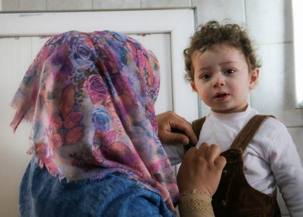 Vacunas para cada niño en Mosul