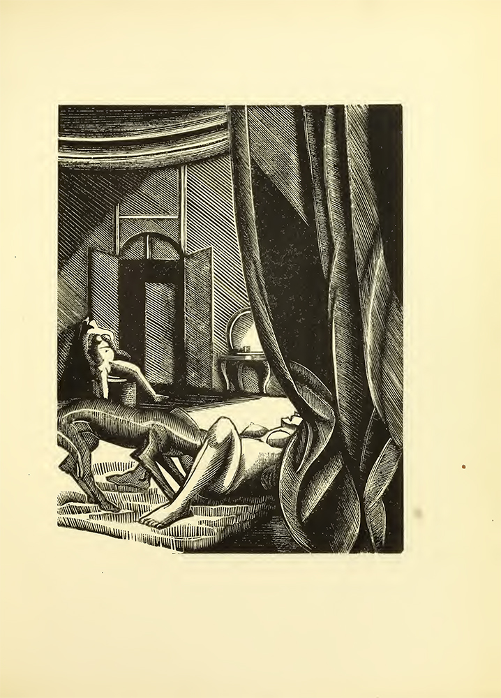 Ilustración de 'Gamiani' de  Alfred de Musset - Wellcome Sexology Collection