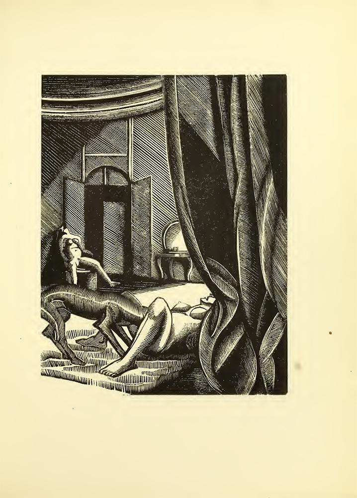 Ilustración de 'Gamiani' de  Alfred de Musset - Wellcome Sexology Collection