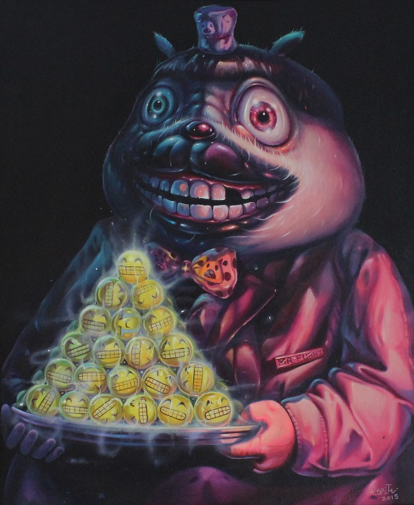 Aof Smith - 'Would You Like A Smile For Dessert?' - Arch Enemy Arts