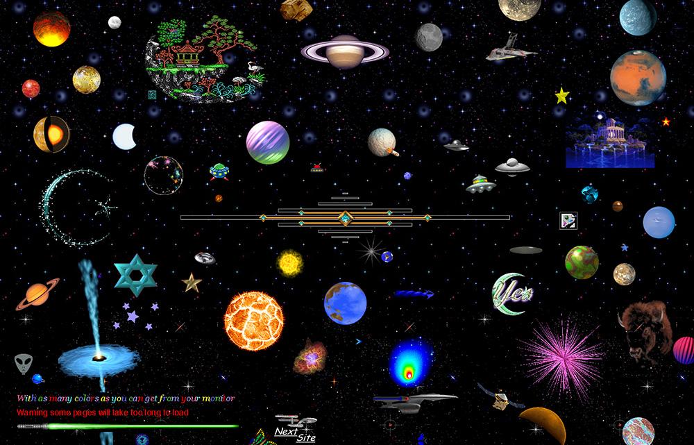 Captura de la web 'Cameron's World', que recupera la estética de las páginas personales de GeoCities - Cameron Askin