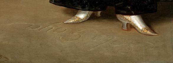 "'La duquesa de Alba"" - Goya, 1797, detalle © Courtesy of The Hispanic Society of America, New York"